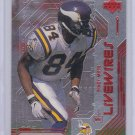 RANDY MOSS 1999 UPPER DECK LIVE WIRES
