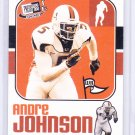 ANDRE JOHNSON 2003 PRESS PASS JE OLD SCHOOL