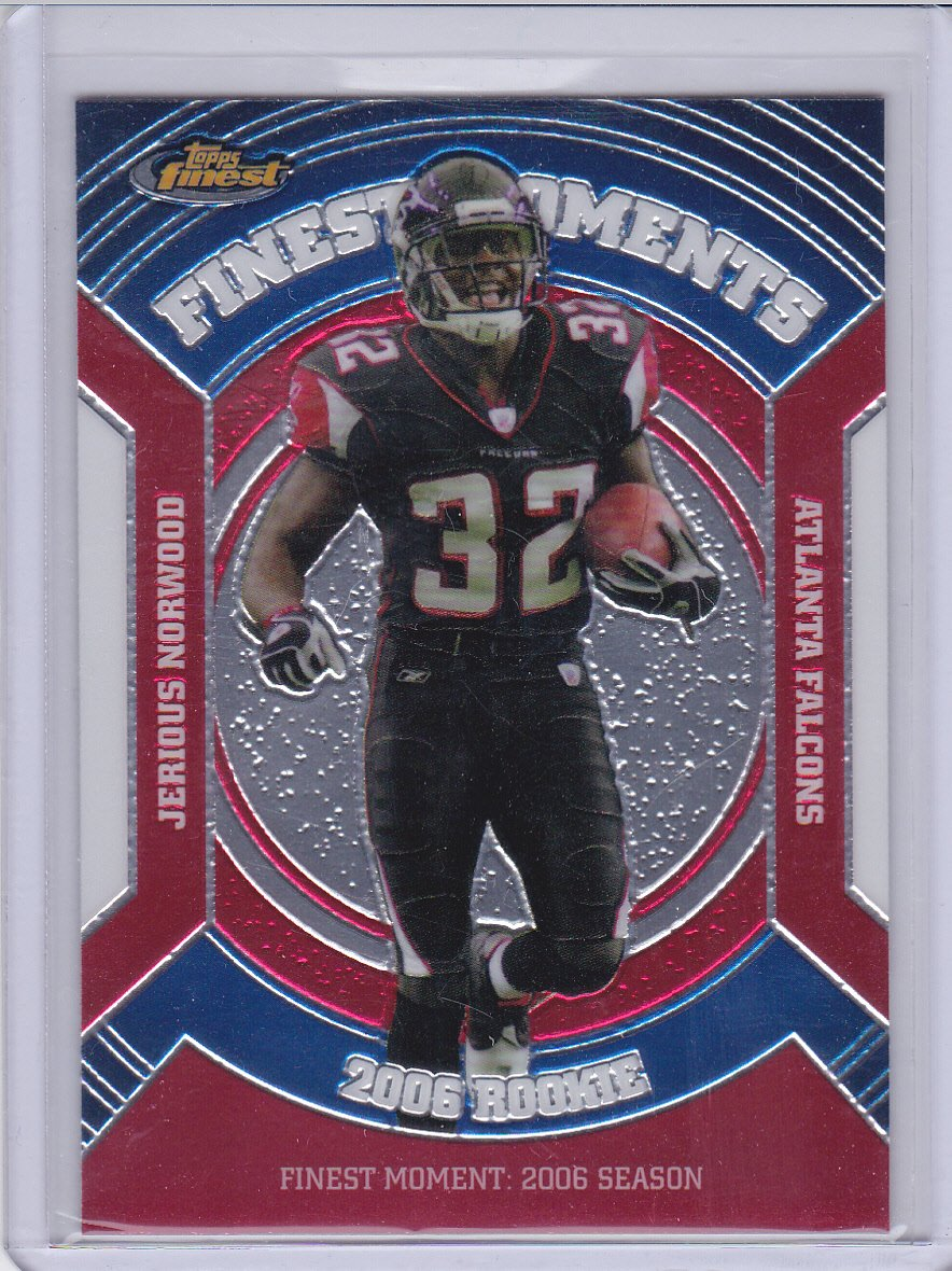 JERIOUS NORWOOD 2007 FINEST ROOKIE FINEST MOMENTS