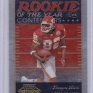 DWAYNE BOWE 2007 PLAYOFF CONTENDERS ROOKIE OF THE YEAR CONTENDERS  #/1000