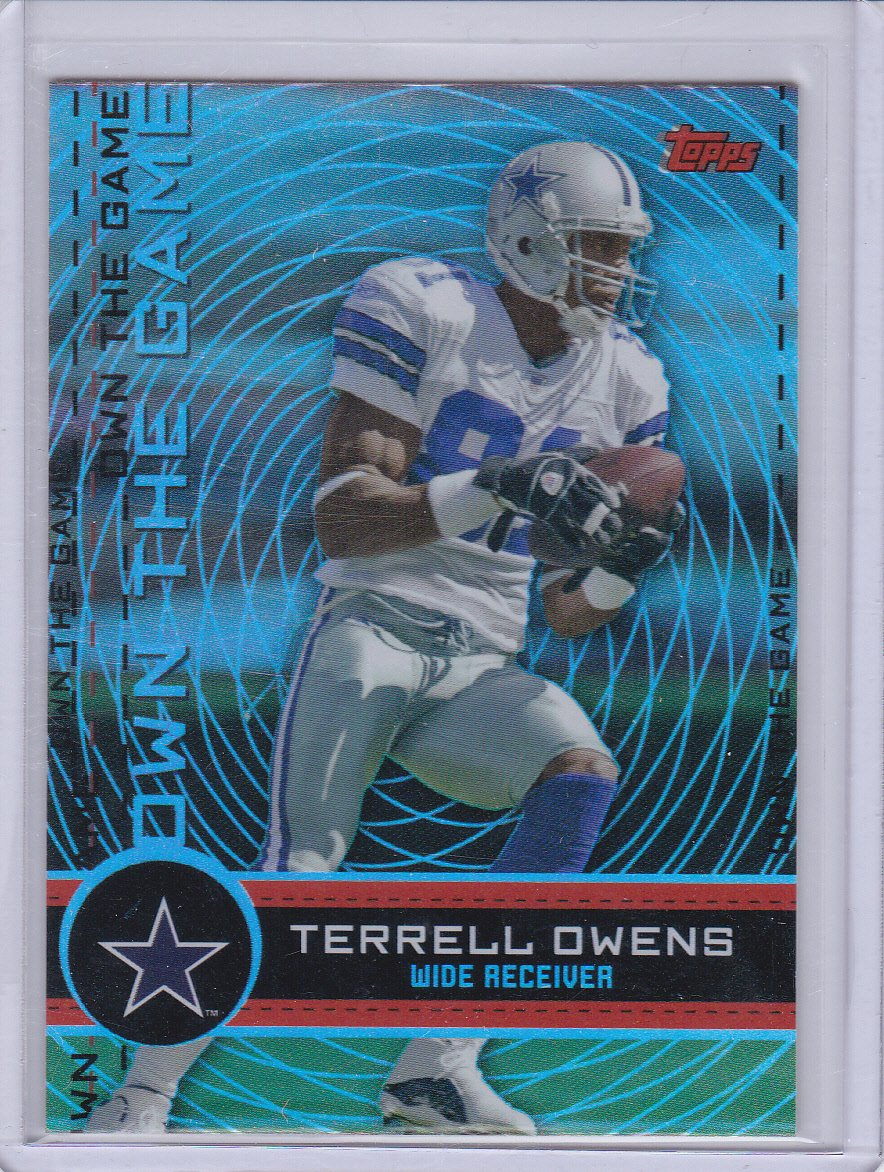 TERRELL OWENS2007 TOPPS OWN THE GAME