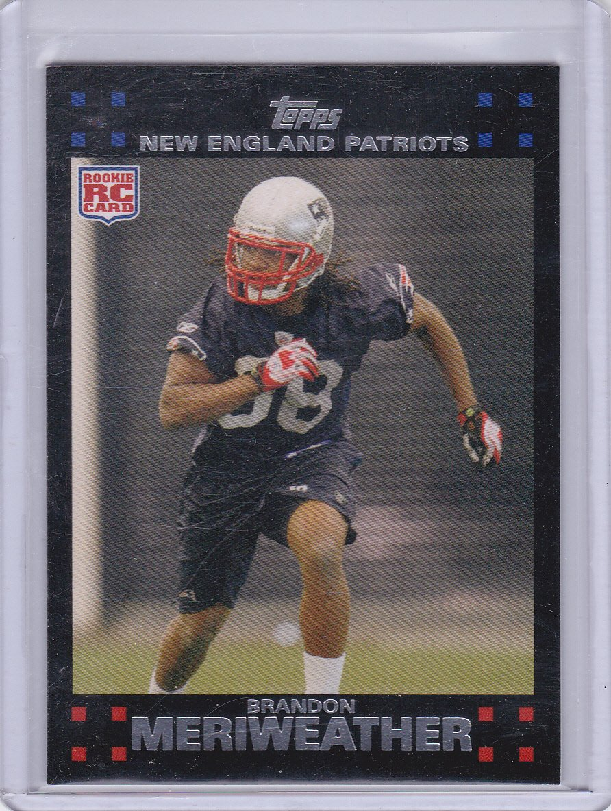 BRANDON MERRIWEATHER 2007 TOPPS ROOKIE
