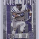 EDGERRIN JAMES 1999 DONRUSS RATED ROOKIE #/5000