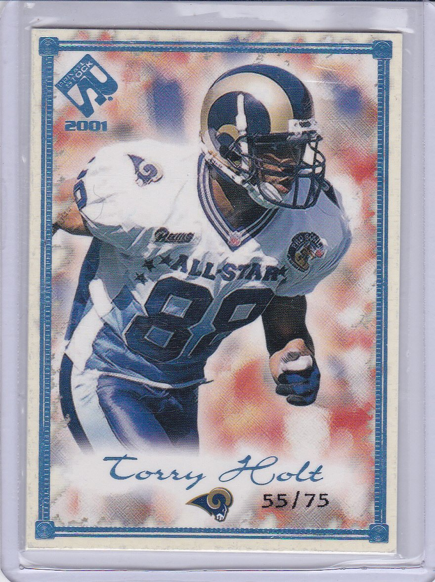 TORRY HOLT 2000 PRIVATE STOCK SILVER #/75
