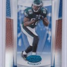 REGGIE BROWN 2007 LEAF CERTIFIED MATERIALS MIRROR BLUE #/50