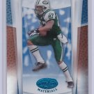 LAVERANUESCOLES 2007 LEAF CERTIFIED MATERIALS MIRROR BLUE #/50