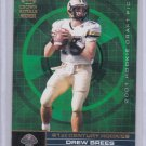 DREW BREES 2001 CROWN ROYAL 21ST CENTURY ROOKIES