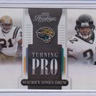 MAURICE JONES-DREW 2007 PLAYOFF PRESTIE TURNING PRO HOLOFOIL #/25
