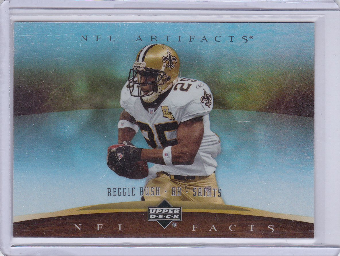 FRANK GORE 2007 ARTIFACTS NFL ARTIFACTS