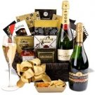 Champagne Wishes Gift Basket