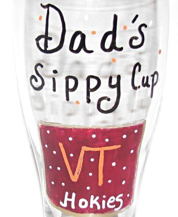 Daddys Sippy Cup Hand Painted Beer Pilsner Choose Your Favorite Team