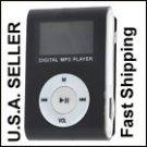 New Black Mini MP3 Player W/ LCD Screen Clip Micro SD TF Slot