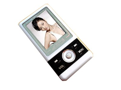 Black 4GB 1.8 inch TFT Screen MP3 Player MP4 Player