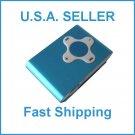 Blue Cross Shape Mini Clip Mp3 Player Support 8 GB Micro SD Card