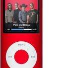 8GB Slim 1.8 LCD Mp3/Mp4 Music Video FM Radio Media Player Free Shipping RED