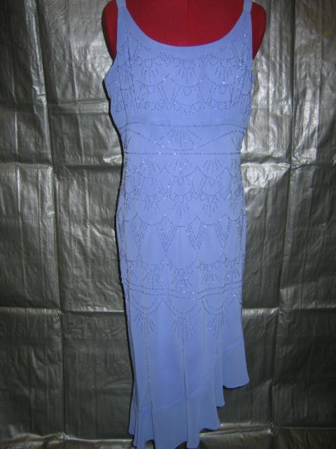 Size 16 Periwinkle beaded