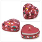 #14384 Jeweled Heart Keepsake Candle