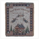 #39553 Patriotic Tapestry Throw