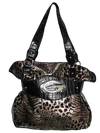 Tiger Print Handbag