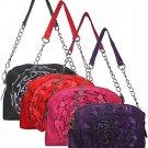 Top Zip Chain Handbag