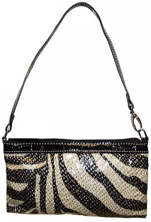 Glitter Zebra Mini Bag