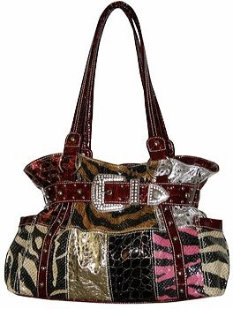 Patch Glitter Handbag