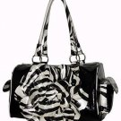 Exotic Zebra Flower Bag