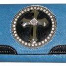 Front Flap Cross Wallet