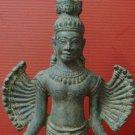Brass Amulet Khmer Angkor Buddha Statue Cambodian Dancing Style
