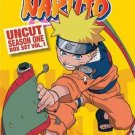 Naruto Uncut Box Set: Season One, Vol. 1 (DVD, 2009, 6-Disc Set)