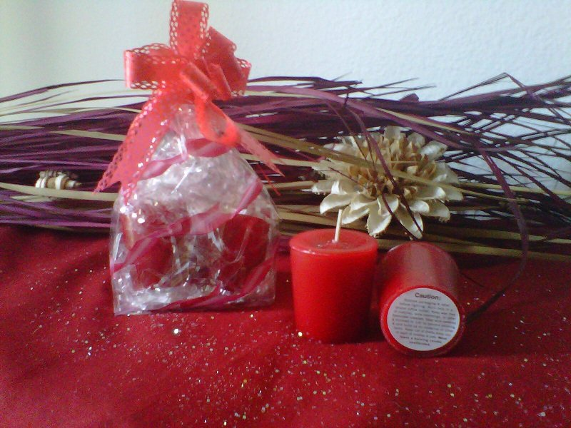 Apple Jack n peel votive