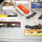 LOT Of Knives - NEW - various sizes/folders/designs