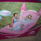 NEW Girls Disney Magical Princess Castle Inflatable Kid Kiddie Pool