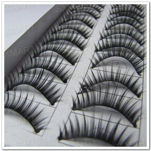10 sets of FASHIONABLE EYELASHES