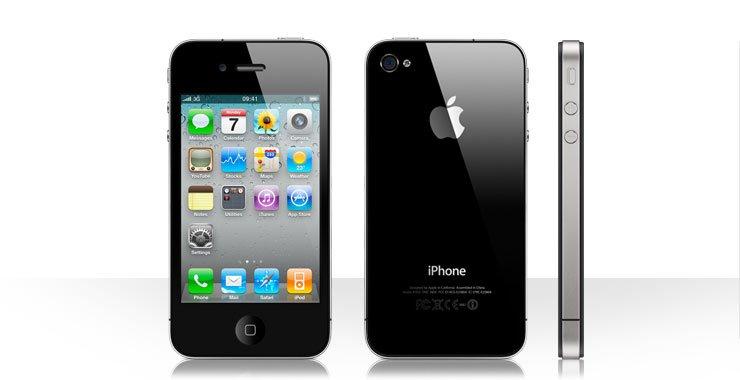 iPhone 4 - 32GB black