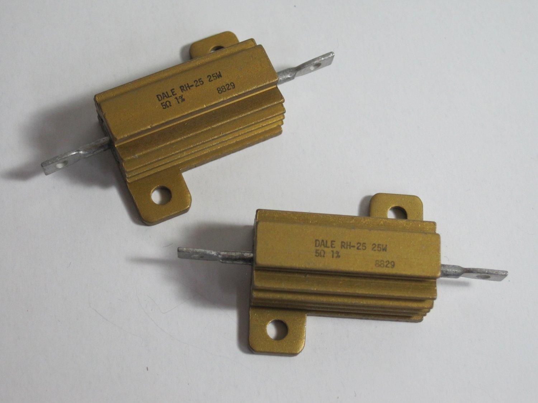 DALE RH-25 25W 5 Ohms (14 pieces)