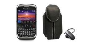 Bundle Deal Blackberry Curve 9300 & Hs 300 Bluetooth Headset & Hitfar Holster
