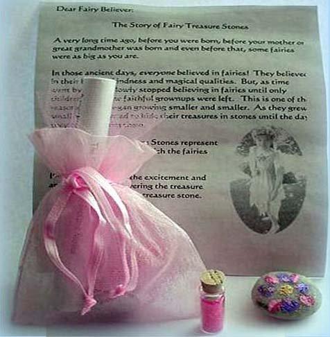 Claresa's Fairy Treasure Stone