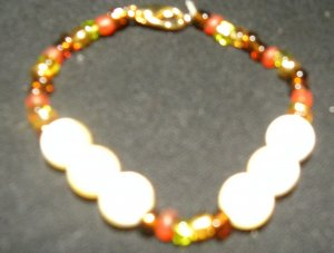Yellow topaz bracelet