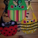3-pc Baby Bug Bib Set