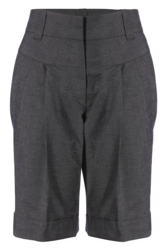 French Connection Enzo Grey Tailored City Shorts RRP£65