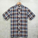 Fred Perry Basketweave Madras Shirt M9352 Kingfisher S-XL
