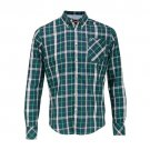 Merc Hollyrood Green Tartan Button-Down Shirt RRP£57