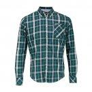 Merc Hollyrood Green Tartan Button-Down Shirt RRP£57