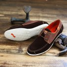 One True Saxon Brown Suede Rigley Lace Up Boat Deck Shoes 8 9 10 11 BNIB