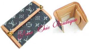 Louis Vuitton Denim Wallet - Medium Size