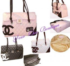Chanel Black Caviar Shoulder Bag