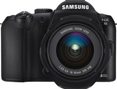 Samsung 14.6MP Interchangeable Lens Camera with 18-55mm OIS Lens