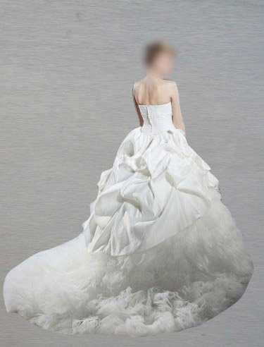 Custom Made- Sexy Bride Strapless Court Train Wedding Dress Cocktail Bridesmaid Ball Prom Gown Y