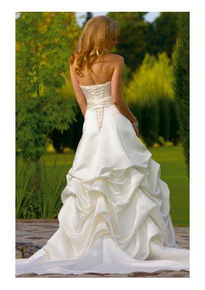 Custom Made- Waist Fake Belt Embellished Strapless Wedding Bride Dress Cocktail Bridesmaid Ball